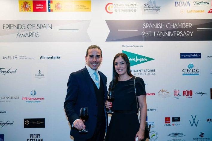 Expat Advisors en el evento Cámara de Comercio de España en Hong Kong
