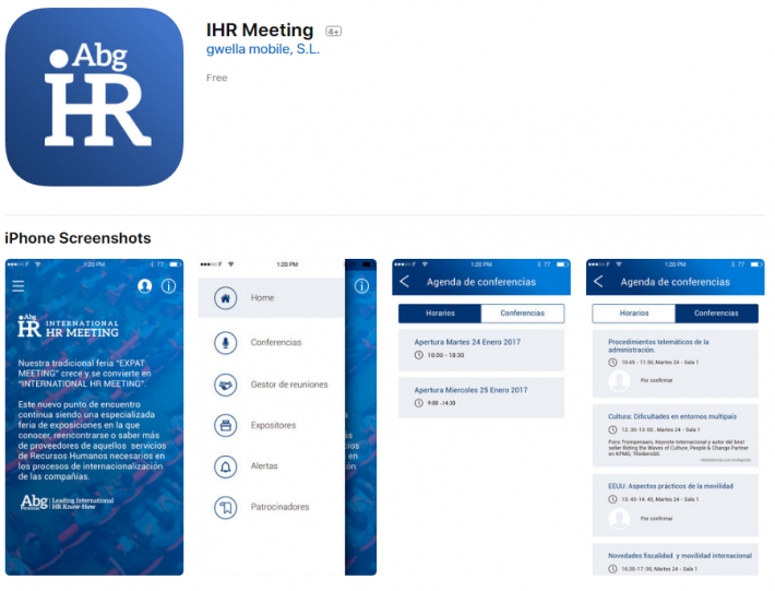 IHR Meeting App ya está disponible.